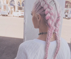 braids, christmas, and dreamy image