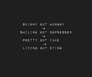 dark, depressed, and quotes image