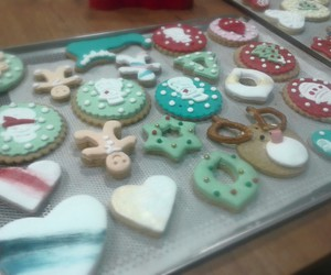 christmas, cook, and Cookies image