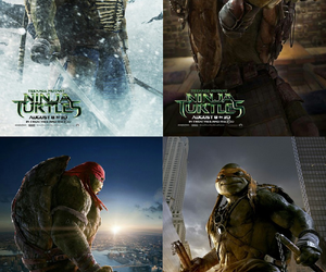 donatello, michelangelo, and movie image