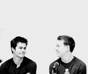 will poulter, tmr, and dylan o'brien image