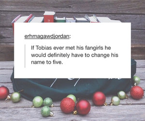 four, divergent, and tobias image