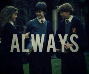 always, harry potter, and hermione image