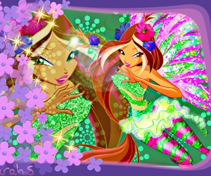 flowers, winx club, and wimx image