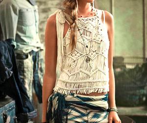 bohemian, fashion, and girl image
