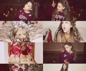 ariana grande, santa tell me, and christmas image