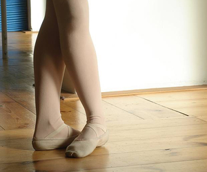 ballerina, dance, and tights image