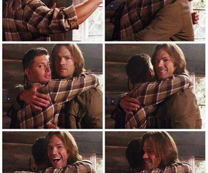 boys, sam winchester, and brothers image