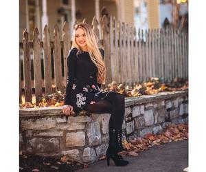 fall, fashion, and model image
