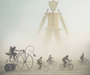 art, Burning Man, and pictures image