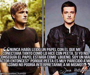 josh hutcherson and peeta mellark image