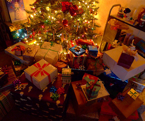 christmas, gift, and present image