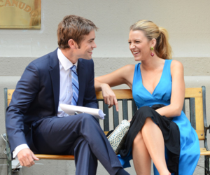 gossip girl, blake lively, and nate archibald image