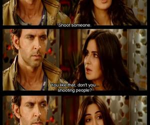 bang bang, funny, and hrithik roshan image