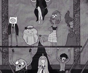 adventure time, ahs, and american horror story image