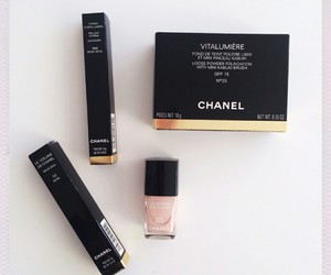 chanel, luxury, and makeup image