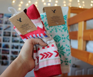socks, tumblr, and christmas image