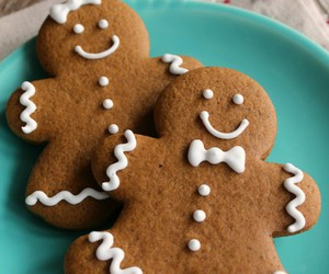 Cookies, christmas, and gingerbread image