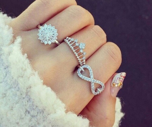 rings, nails, and infinity image