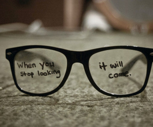 glasses and quotes image