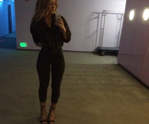 blonde, fit, and heels image