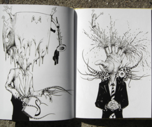 art, drawing, and book image