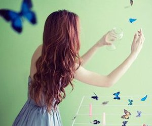 *-*, pretty, and butterflies image