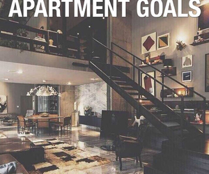 goals, apartment, and life image