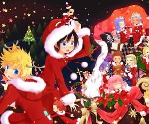 christmas, kingdom hearts, and organization 13 image