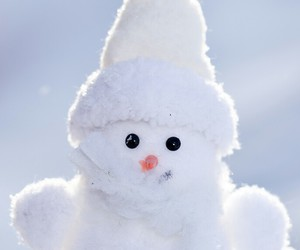 background, christmas, and snowman image