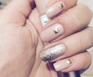 bling, nail art, and diy image