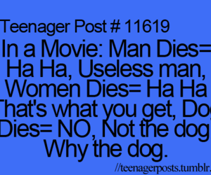 dog, teenager post, and movie image