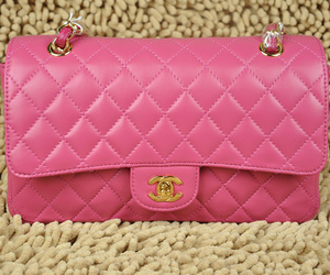 bags chanel pink image