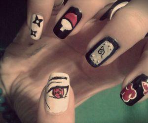 <3, nails, and naruto image