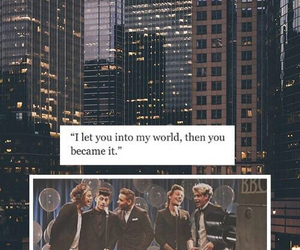 quote, lockscreen, and one direction image