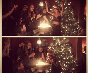 Taylor Swift, birthday, and selena gomez image