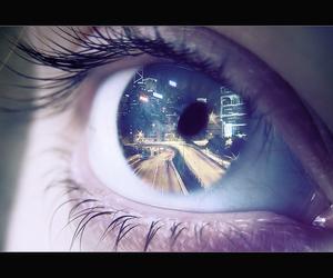 eye, eyes, and city image