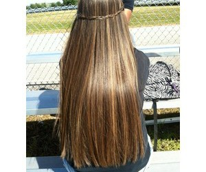 hair, brown, and girl image