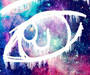 anime, draw, and eye image