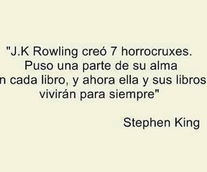 harry potter, book, and Stephen King image