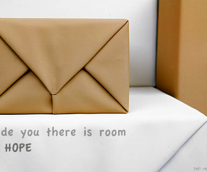 envelope, words, and hope image