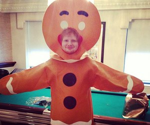 ed sheeran, Halloween, and ed image