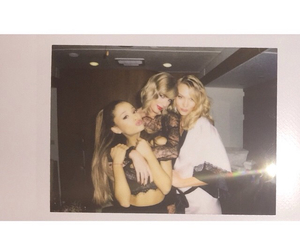 ariana grande, Taylor Swift, and Karlie Kloss image