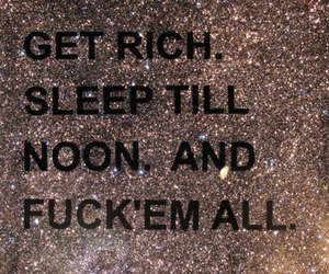 Dream, live, and rich image