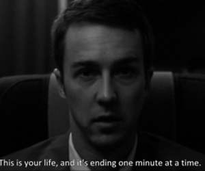 fight club, edward norton, and quote image
