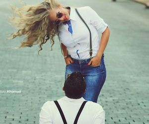 beauty, couple, and photography image