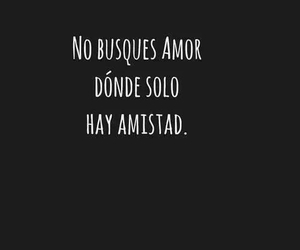 love, amistad, and frases image