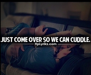 cuddle, love, and Relationship image