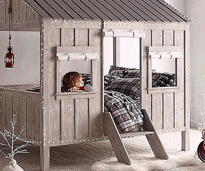 room ideas, cool bed, and house bed image