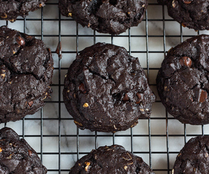 cherry, chocolate, and Cookies image